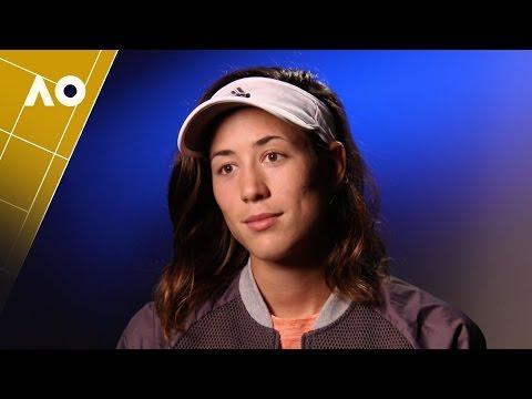 Muguruza post-match interview (2R) | Australian Open 2017