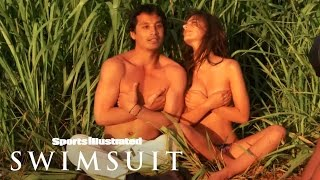 getlinkyoutube.com-Emily Ratajkowski Outtakes: Kauai Photoshoot 2015 | Sports Illustrated Swimsuit
