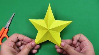getlinkyoutube.com-How to make simple & easy paper star | DIY Paper Craft Ideas, Videos & Tutorials.