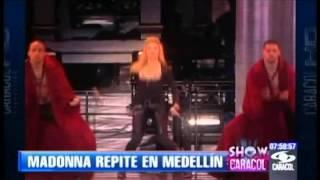 getlinkyoutube.com-Madonna en Medellín - Noticiero Show Caracol
