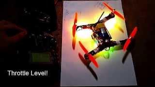 getlinkyoutube.com-Testing CleanFlight LED Strip Feature on mini Quadcopter - RGB WS2812 - Naze32