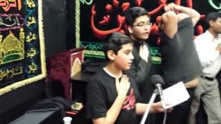 Tu Bekafan Hai Hussain Behan Be Rida Hai | Recited By Raza Ali