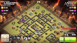 getlinkyoutube.com-Clash of Clans - PentaLavaLoon TH9 vs TH9 without Queen - 3 Star