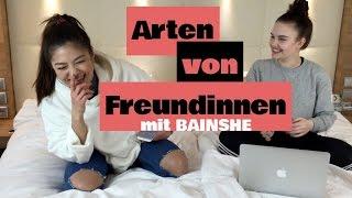 Arten von Freundinnen mit BAINSHE | + Outtakes | Sarah Foxx