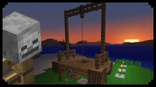 getlinkyoutube.com-✔ Minecraft: How to make a Gallows