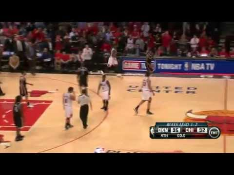 NBA CIRCLE - Brooklyn Nets Vs Chicago Bulls Game 6 Highlights - 2 May 2013 NBA Playoffs