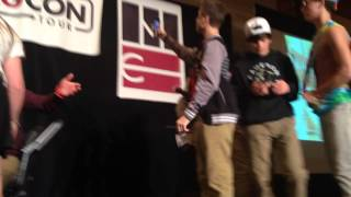 getlinkyoutube.com-Magcon Chicago |Lipgloss dance|