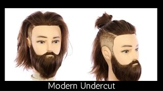 getlinkyoutube.com-Modern Undercut Haircut Tutorial - TheSalonGuy