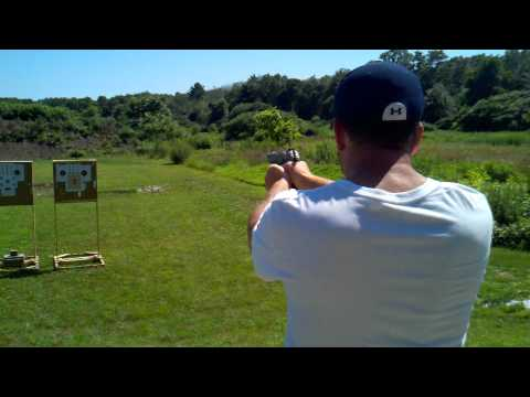 Shooting the Ruger P90 45 acp