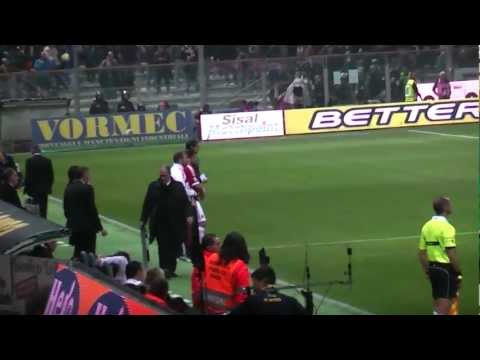 Parma Milan 0-2 Curva Sud Milano ''ESCE MUNTARI ENTRA GATTUSO'' IN FULL HD''.MTS