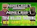 "Minecraft Xbox 360 & PS3: ""Title Update 14"" Village Trading + New Village Layout (TUTORIAL!)"