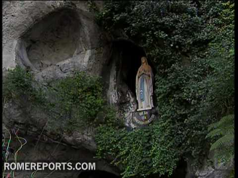 The story of the apparitions of the Virgin Mary in Lourdes