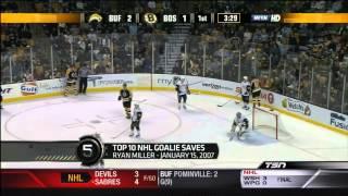 getlinkyoutube.com-Top 10 - NHL Goalie Saves