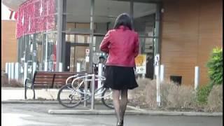 getlinkyoutube.com-Nice day for shopping - Transvestite Crossdresser