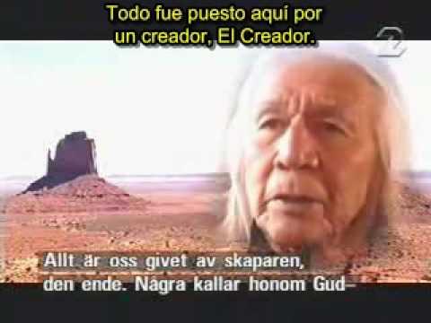 Habla un anciano nativo americano