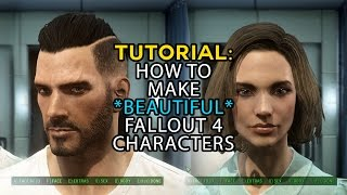 getlinkyoutube.com-Fallout 4: Tutorial Walkthrough How to Make Hot Characters - male and female