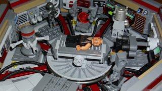 getlinkyoutube.com-Lego Star Wars Birth And Rebirth Of Darth Vader MOC Medic Center