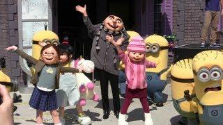 getlinkyoutube.com-Grand opening of Despicable Me: Minion Mayhem at Universal Orlando