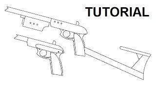 getlinkyoutube.com-Tutorial — Adaptive Carbine Rubber Band Gun (ACRBG)