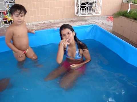 Banho de Piscina -  Dez 2009