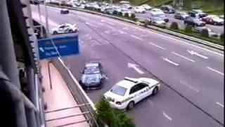 getlinkyoutube.com-Ucieka policji driftem