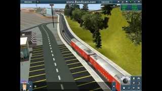 getlinkyoutube.com-Trainz 12: City Route 1#: Tram Line: Preview