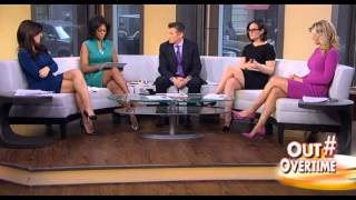 getlinkyoutube.com-Ainsley Earhardt & Andrea Tantaros & Harris Faulkner & Lisa 'Kennedy' Montgomery hot legs 02/26/15