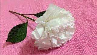 getlinkyoutube.com-How to Make Tissue Paper Flowers - Making Tissue Paper Flowers - Paper Flower Tutorial