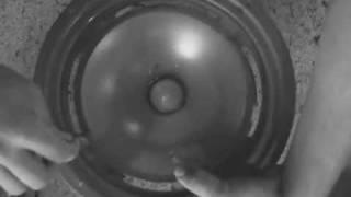 getlinkyoutube.com-Infinity RS 2 3 4 5 6 7 Woofer Refoam Sicke reparieren