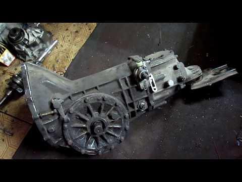 Mercedes-Benz MB100 2.4 Дизельный Бус. Ремонт коробки