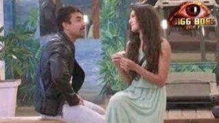 Bigg Boss 7 Ajaz TOUCHES Gauhar BADLY in Bigg Boss 7 11th December 2013 Day 87 FULL EPISODE