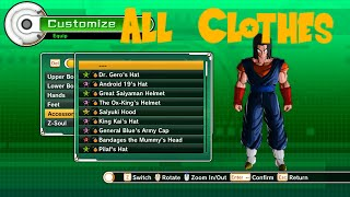 getlinkyoutube.com-Dragon Ball Xenoverse - All Clothes