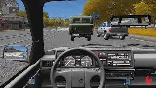 getlinkyoutube.com-City Car Driving - Volkswagen Golf II GTI | Casual Driving