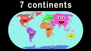 getlinkyoutube.com-7 Continents Song for Children