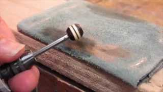getlinkyoutube.com-Making wooden beads with a Dremel