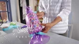 Giftology: How to Wrap a Gift Candy-Style