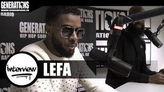Lefa - Interview (Live des studios de Generations)