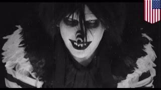 getlinkyoutube.com-Creepy clown murder: girl claims horror character Laughing Jack made her kill stepmom - TomoNews