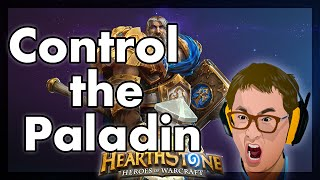 Hearthstone - Controlling a Paladin