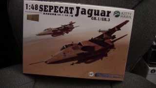 getlinkyoutube.com-1/48 Kitty Hawk Sepecat Jaguar GR.1/GR.3 Review/Preview