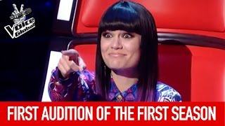 The Voice   FIRST Blind Audition of the FIRST season