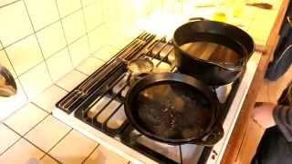 getlinkyoutube.com-ダッチオーブン開封・シーズニングの方法