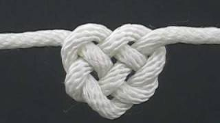 getlinkyoutube.com-How to Tie the Celtic Heart Knot by TIAT (A Knotty Valentine)