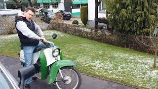 getlinkyoutube.com-Freiluft Garage - Simson Schwalbe Teil 1