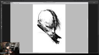 getlinkyoutube.com-Ash Thorp + Maciej Kuciara / Maciej introduces Manga Studio Pro / Learn Squared Live Stream