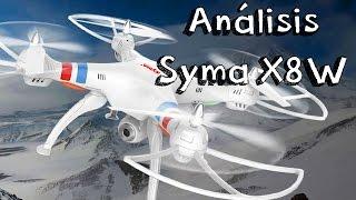 getlinkyoutube.com-ANALISIS SYMA X8W WIFI EN ESPAÑOL: Review en español de drones baratos calidad precio