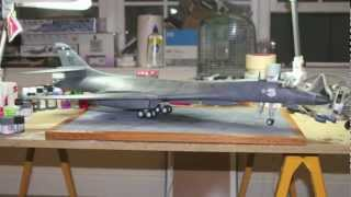 getlinkyoutube.com-1/48 Revell B-1B Lancer