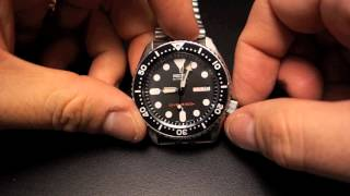 getlinkyoutube.com-Watches: Seiko SKX007 and SKX009 Dive Watches