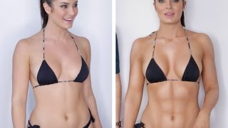 getlinkyoutube.com-Everyday Full Body Contour Routine: Legs, Booty, Boobs, Abs + MORE!