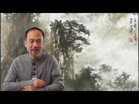 Henry Li's Indroduction  to Lesson 19 Misty Mountains in Neo-Fu Baoshi Style Featuring Zhu Yanmo
